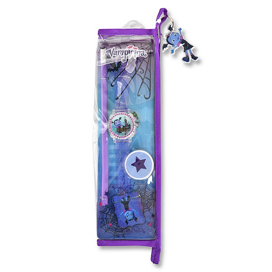 Disney Collection Unisex Purple Strap Watch-Vmp40003jc