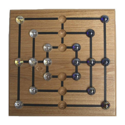 Square Root Classic Mill Strategy Game