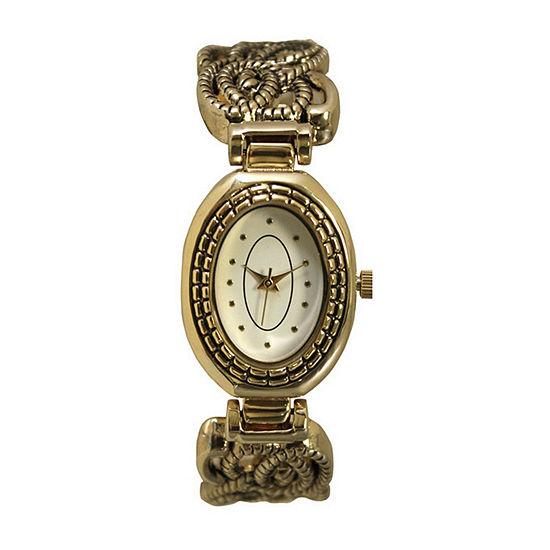 Olivia Pratt Womens Gold Tone Bracelet Watch - A915786gold