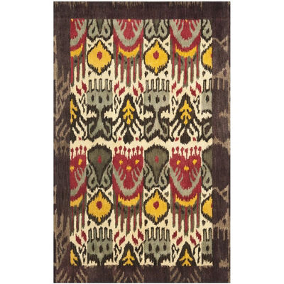 Safavieh Ikat Collection Frazier Floral Area Rug