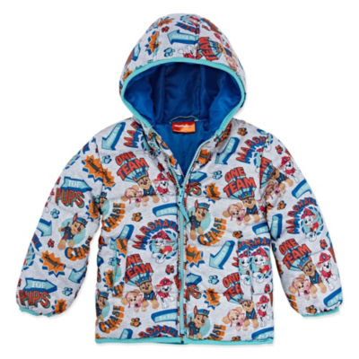 Outerwear - Boys Paw Patrol Heavyweight Puffer Jacket-Toddler