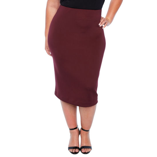 Worthington Scuba Skirt - Plus