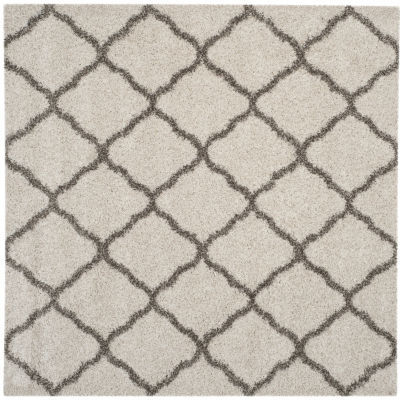 Safavieh Hudson Shag Collection Weldon Geometric Square Area Rug