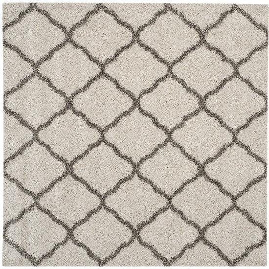 Safavieh Hudson Shag Collection Weldon Geometric Square Area Rug