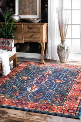 nuLoom Vintage Maurer Persian Area Rug
