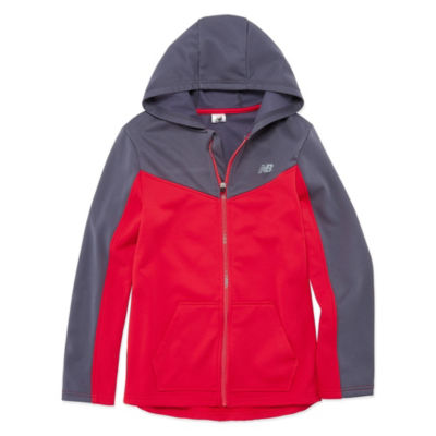 New Balance Fleece Jacket-Big Kid Boys