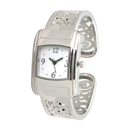Olivia Pratt Womens Silver Tone Bracelet Watch - A917570silver