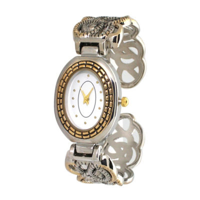 Olivia Pratt Womens Two Tone Bracelet Watch-A915786twotone
