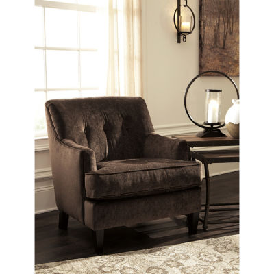 Signature Design By Ashley® Carlinworth Button-Tufted Velvet Accent Chair