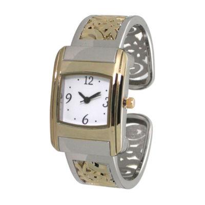 Olivia Pratt Womens Two Tone Bracelet Watch-A917570twotone