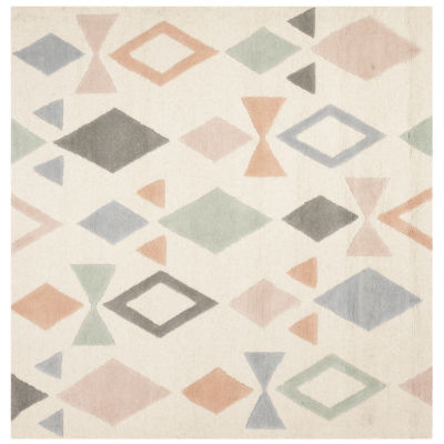Safavieh Kids Collection Myron Geometric Square Area Rug