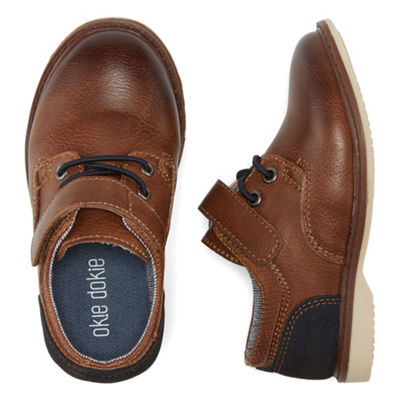 Okie Dokie Little Kid/Big Kid Boys Harbour Oxford Shoes Lace-up Round Toe