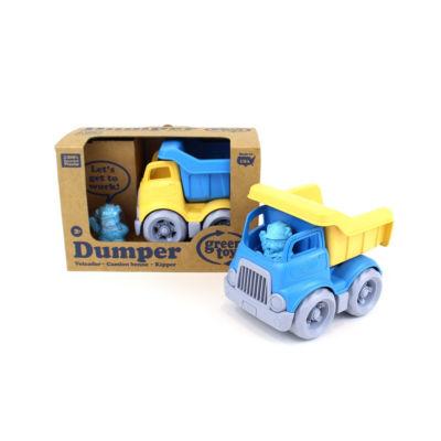Green Toys Dumper Construction Truck - Blue/Yellow