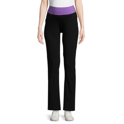 Planet Motherhood Knit Yoga Pants - Maternity