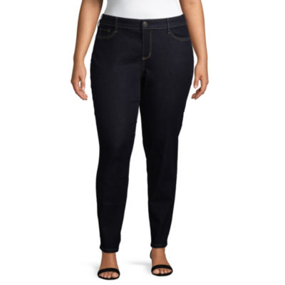 Boutique + Slim Fit Skinny Jean – Plus