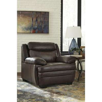 Signature Design By Ashley® Hannalore Leather Accent Chair