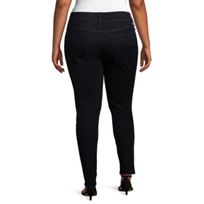 Boutique + Slim Fit High Rise Jeggings - Plus