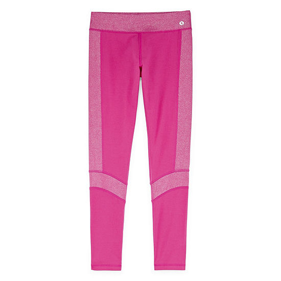 Xersion  Shine Ankle Yoga Leggings Girls' 4-16 and Plus