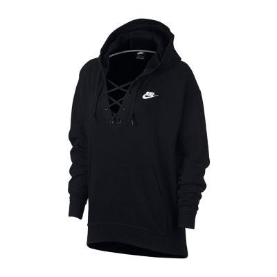 Nike Women's Club Lace Up Sweatshirt