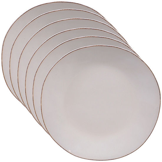 Certified International Harmony Cream 6-pc. Dinner Plate