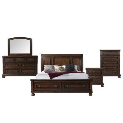 Picket House Furnishings Kingsley Storage 5-pc. Bedroom Set