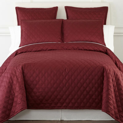 Liz Claiborne Diamond 3-pc. Coverlet Set