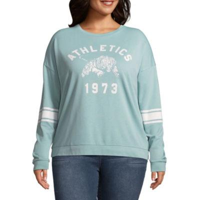 """""""Athletics 1973"""" Sweatshirt - Juniors Plus"""