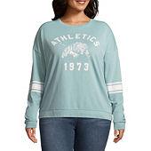bf7608b2931 Flirtitude Sweatshirt - Juniors Plus - JCPenney