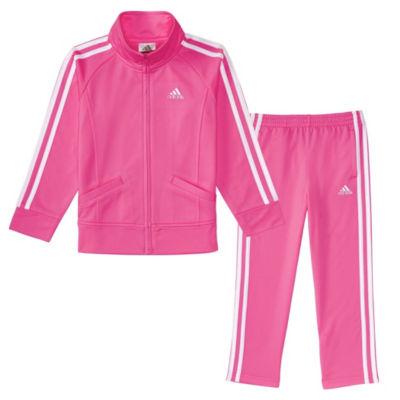 adidas 2-pc. Pattern Pant Set Girls