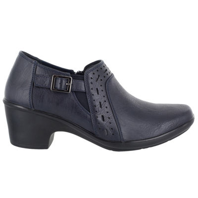 Easy Street Womens Remedy Shooties Slip-on Round Toe