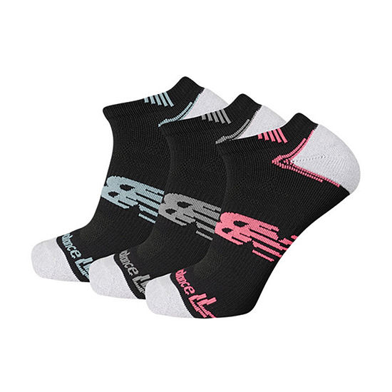 New Balance Running 3 Pair No Show Socks - Unisex