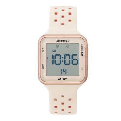 Armitron Unisex Rose Goldtone Watch Boxed Set-40/8417pbh