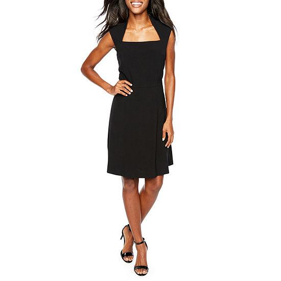Chelsea Rose Sleeveless Midi Fit & Flare Dress