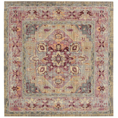 Safavieh Claremont Collection Justine Oriental Square Area Rug