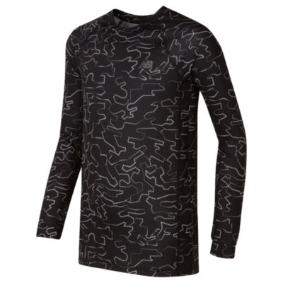 New Balance Long Sleeve T-Shirt-Preschool Boys