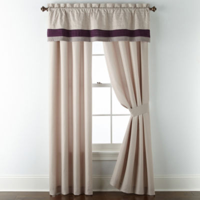 JCPenney Home Landon Rod-Pocket Curtain Panel