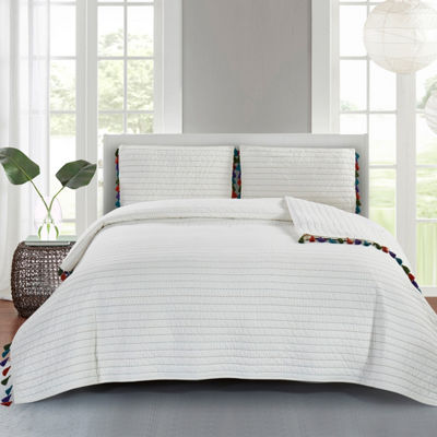 Wonder Home Piper 3-pc. Cotton Quilt set