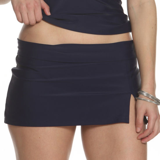 Sun and Sea Skirted Swim Bottom - Plus