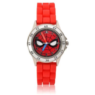 Spiderman Unisex Red Strap Watch-Spd9040jc