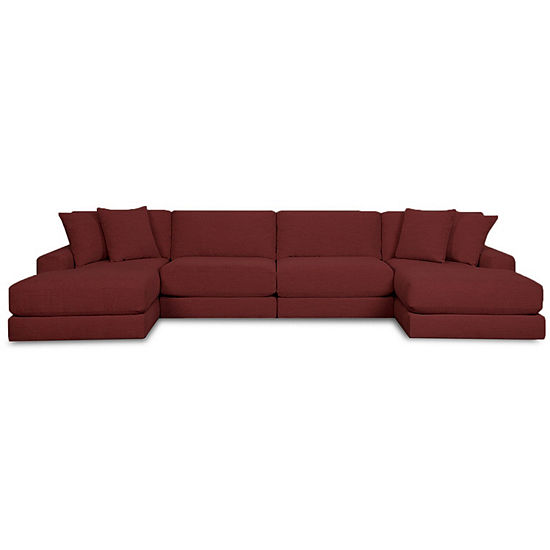 Fabric Possibilities Ponderosa 4 Pc Chaise Sectional
