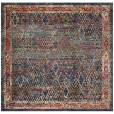 Safavieh Harmony Collection Brandt Geometric Square Area Rug