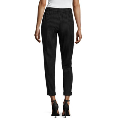 Almost Famous Womens Mid Rise Slim Pull-On Pants-Juniors