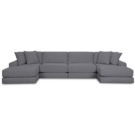 Fabric Possibilities Ponderosa 4-Pc Chaise Sectional