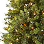 North Pole Trading Co. 7 1/2 Foot Vail Color Blast Pre-Lit Christmas Tree
