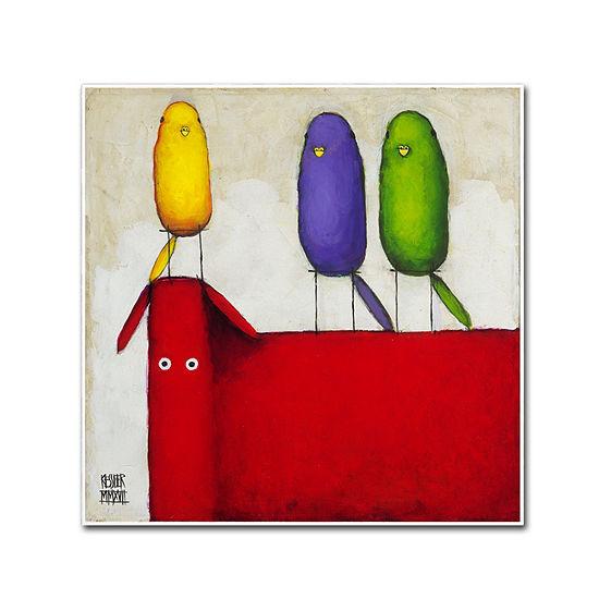 Trademark Fine Art Daniel Patrick Kessler Celebrating Diversity I Giclee Canvas Art
