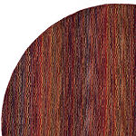 Safavieh Himalaya Collection Lysette Striped Round Area Rug