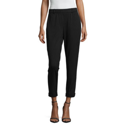 Almost Famous Original Fit Jersey Pull-On Pants-Juniors