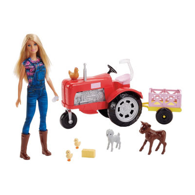 Barbie Farmer Doll & Tractor