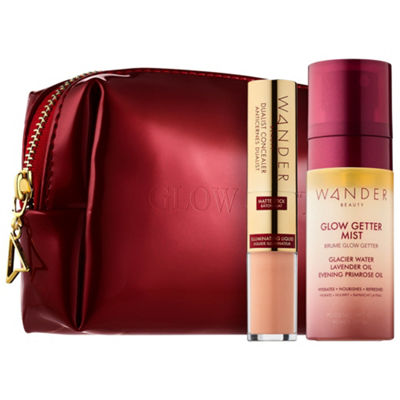 Wander Beauty Unplug Let Glow Customizable Complexion Set