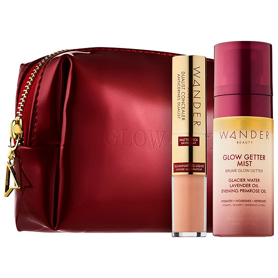 Wander Beauty Unplug Let Glow Customizable Complexion Set